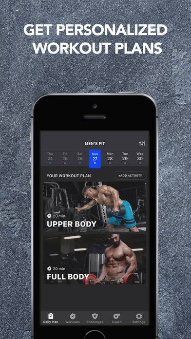 「Muscle Booster Workout Planner」のスクリーンショット 3枚目