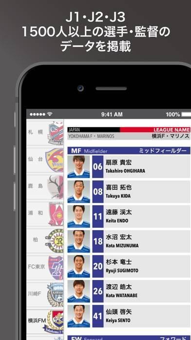 「EGサッカー名鑑2020」のスクリーンショット 2枚目
