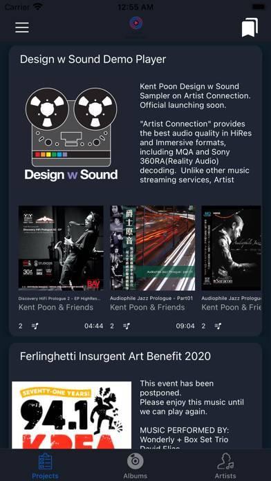 「Artist Connection」のスクリーンショット 2枚目