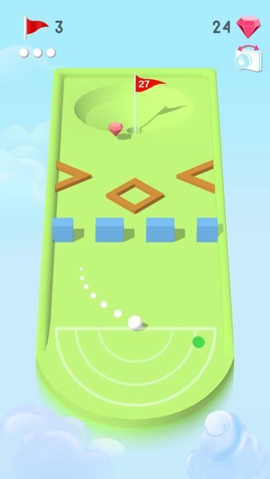 「Pocket Mini Golf」のスクリーンショット 3枚目