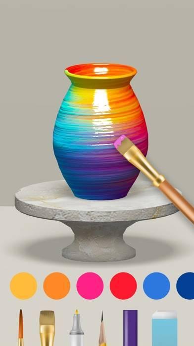 「Pottery.ly 3D - 陶芸制作」のスクリーンショット 3枚目