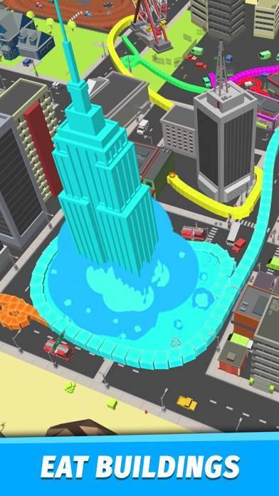 「Boas.io Snake vs City」のスクリーンショット 2枚目