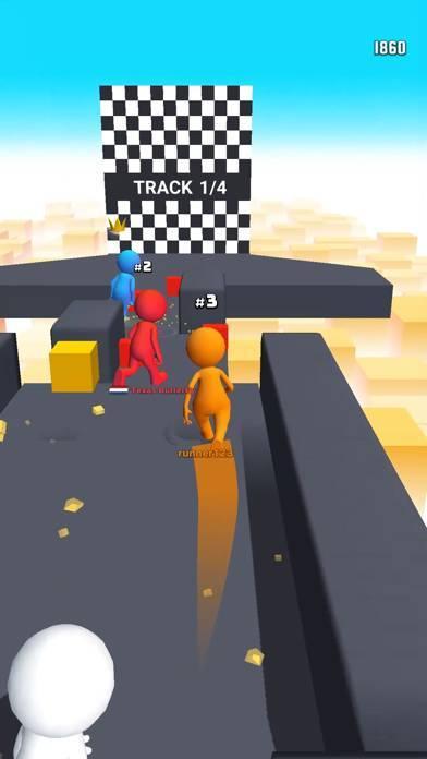 「Human Runner 3D」のスクリーンショット 2枚目