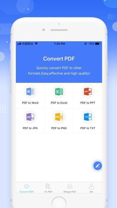 「Apowersoft PDF変換アプリ」のスクリーンショット 1枚目