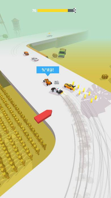 「Drifty Race!」のスクリーンショット 2枚目