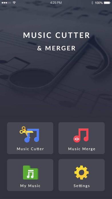 「Mp3 Cutter - オーディオ カッター」のスクリーンショット 1枚目