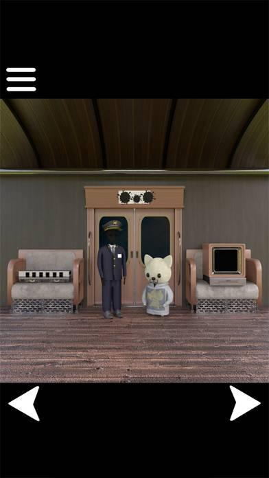 「脱出ゲーム 幽霊列車からの脱出」のスクリーンショット 2枚目