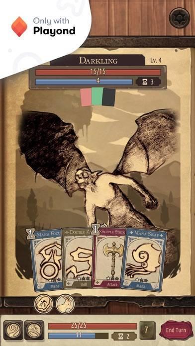 「Spellsword Cards: Origins」のスクリーンショット 1枚目