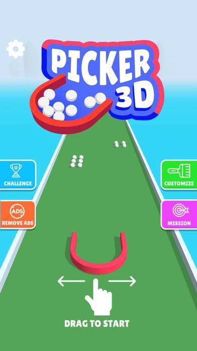 「Picker 3D」のスクリーンショット 1枚目