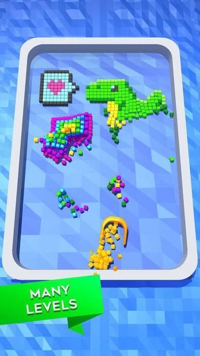 「Collect Cubes」のスクリーンショット 3枚目