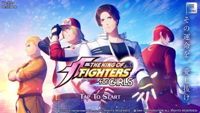 「THE KING OF FIGHTERS for GIRLS」のスクリーンショット 1枚目