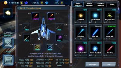 「Galaxy Airforce War」のスクリーンショット 2枚目