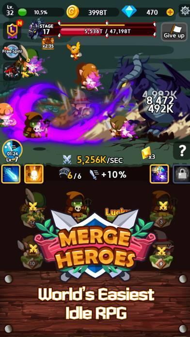 「Merge Heroes Frontier」のスクリーンショット 3枚目