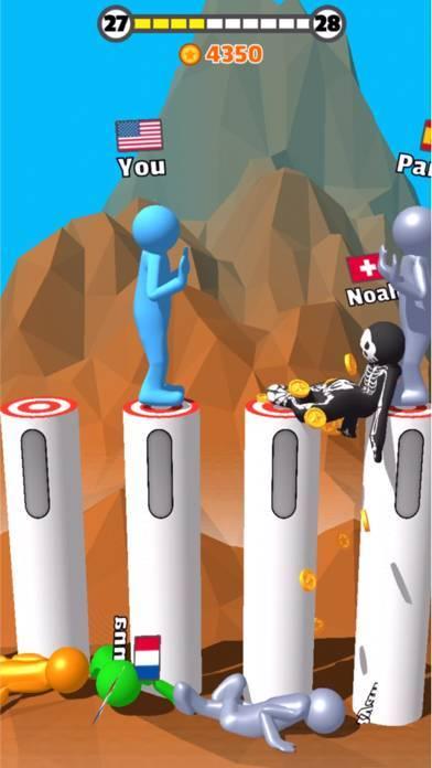 「Push Battle ! - 暇つぶし 人気 ゲーム」のスクリーンショット 2枚目