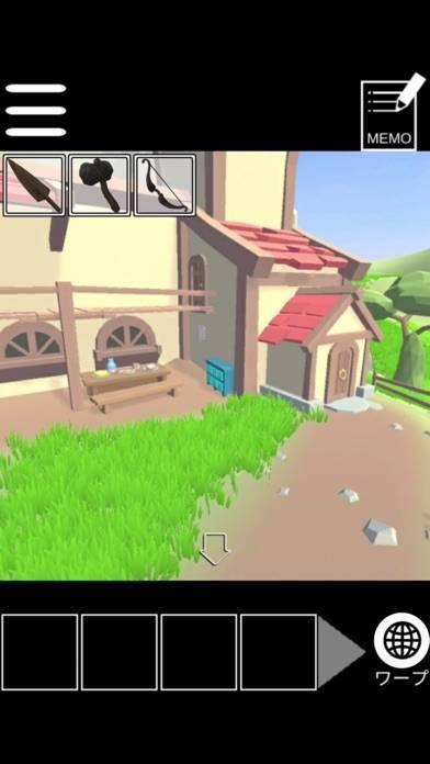 「脱出(?)ゲーム:RPGの最初の村の準備をしよう」のスクリーンショット 3枚目