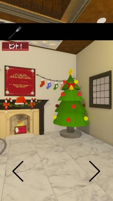 「脱出ゲームクリスマス「12月25日」MerryXmas」のスクリーンショット 1枚目