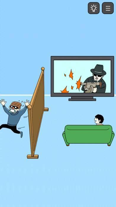 「泥棒をやっつけろ! -脱出ゲーム-」のスクリーンショット 3枚目