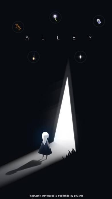 「Alley~夜回り~」のスクリーンショット 1枚目