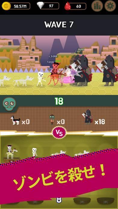 「ダンジョンモン : Idle Merge Monster」のスクリーンショット 2枚目