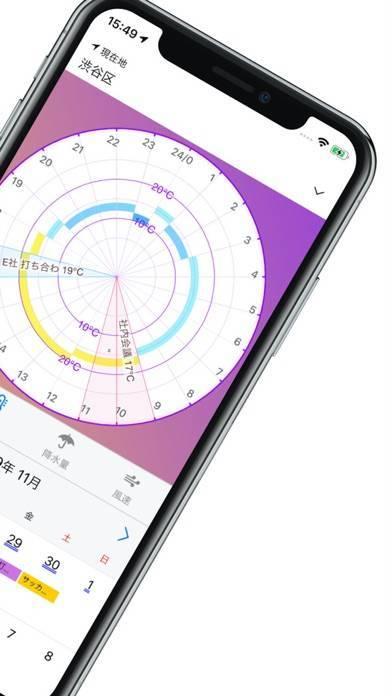 「Orsa 天気予報 & カレンダー」のスクリーンショット 3枚目