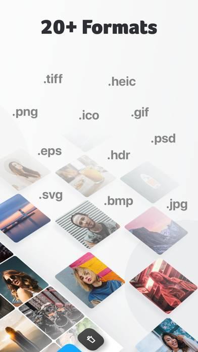 「画像形式変換: 拡張子 コンバーター」のスクリーンショット 2枚目