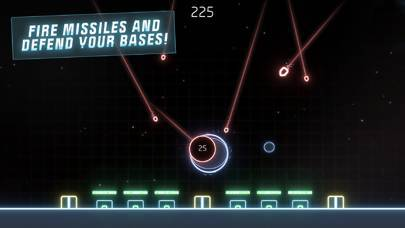 「Missile Command: Recharged」のスクリーンショット 2枚目