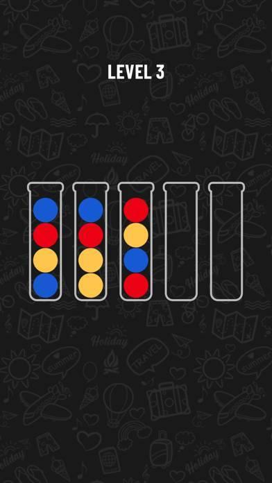 「Ball Sort Puzzle」のスクリーンショット 1枚目