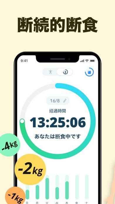 「16時間断食インターミッテント・ファスティング」のスクリーンショット 3枚目