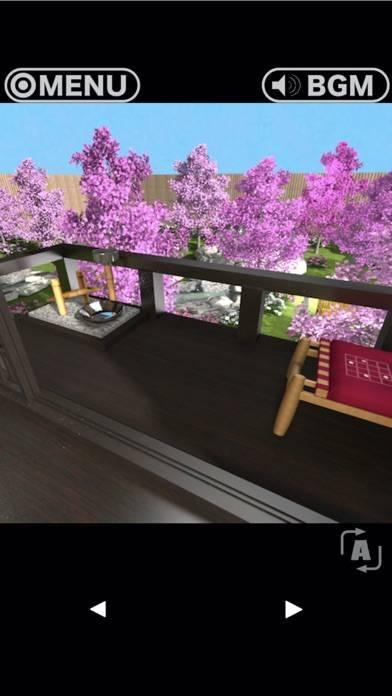「脱出ゲーム RESORT5 - 悠久の桜庭園への脱出」のスクリーンショット 1枚目