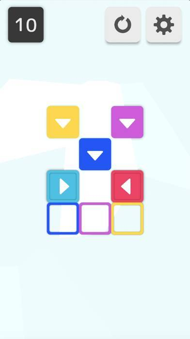 「Push - ブロックを押して動かすパズル」のスクリーンショット 1枚目