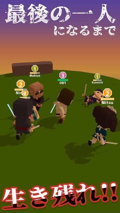 「Blade Royale 刃で戦うバトロワ.io」のスクリーンショット 2枚目