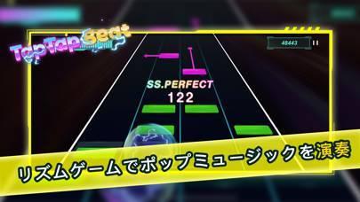 「TapTap Beat:ポップミュージックリズムゲーム」のスクリーンショット 1枚目
