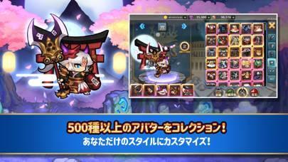 「ちびっこヒーローズ - 放置系RPG」のスクリーンショット 2枚目