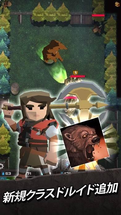 「ダーキストログ : Slingshot RPG」のスクリーンショット 1枚目