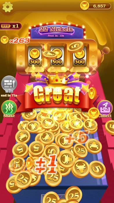 「Lucky! Coin Pusher」のスクリーンショット 1枚目