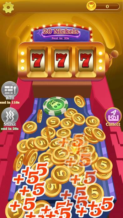 「Lucky! Coin Pusher」のスクリーンショット 2枚目