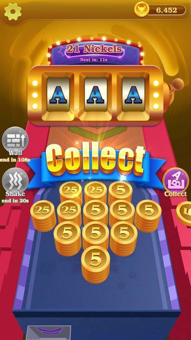「Lucky! Coin Pusher」のスクリーンショット 3枚目