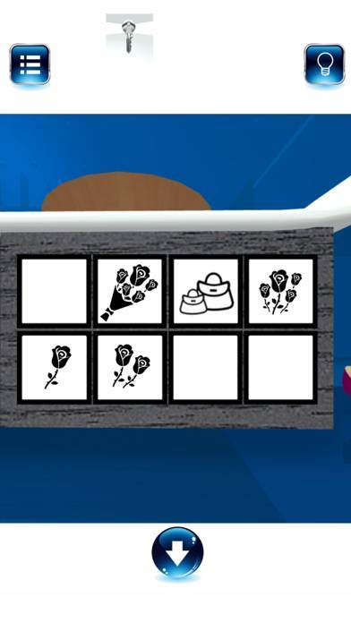 「脱出ゲーム BlueROOM -謎解き-」のスクリーンショット 3枚目