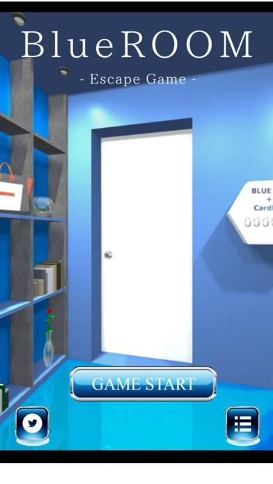 「脱出ゲーム BlueROOM -謎解き-」のスクリーンショット 1枚目