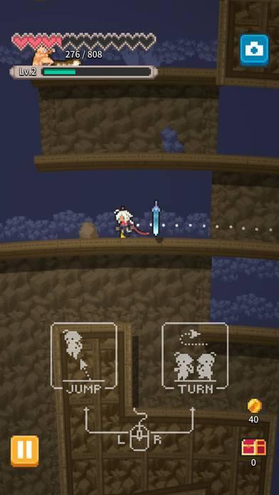「RogueRun~無間ノ塔[Abyss Tower]」のスクリーンショット 2枚目
