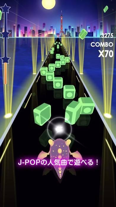 「ビートラッシュ!Beat Runner!人気曲音楽リズムゲー」のスクリーンショット 3枚目