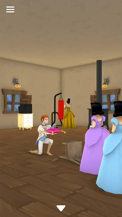 「脱出ゲーム シンデレラ 零時の魔法が解けるまで」のスクリーンショット 3枚目