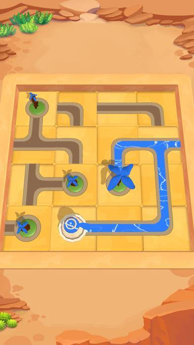 「Water Connect Puzzle」のスクリーンショット 1枚目