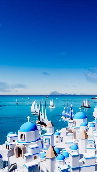 「脱出ゲーム サントリーニ ~エーゲ海広がる青と白の街~」のスクリーンショット 1枚目