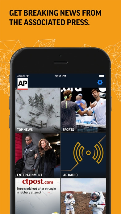 「AP Mobile - Breaking Local, National & Global News」のスクリーンショット 1枚目