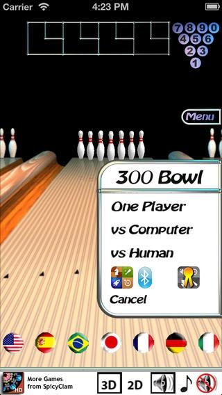 「300 Bowl」のスクリーンショット 2枚目