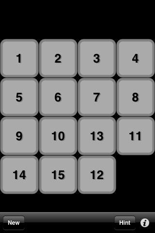 「15 Puzzle」のスクリーンショット 3枚目