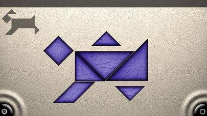 「TanZen Free - Relaxing tangram puzzles」のスクリーンショット 3枚目