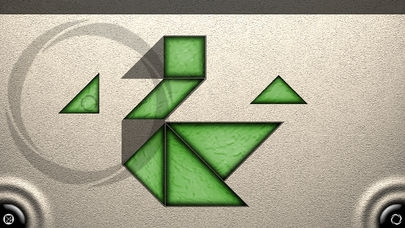 「TanZen Free - Relaxing tangram puzzles」のスクリーンショット 1枚目