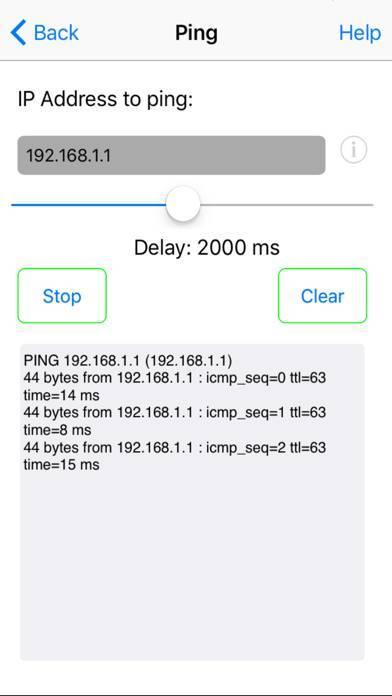 「Network Ping Lite」のスクリーンショット 2枚目
